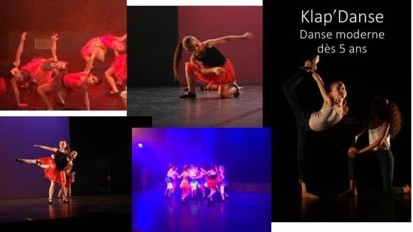 Danse moderne / modern'jazz , enfants dès 5 ans