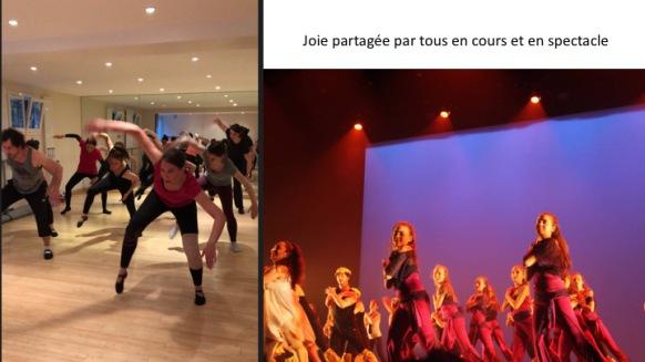 Cours de danse moderne/contemporaine/modern'jazz pour enfants ados et adultes