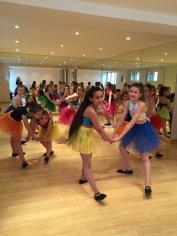 Photo cours de danse moderne - Enfants