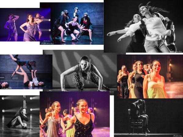 Des danseurs heureux sur scène !