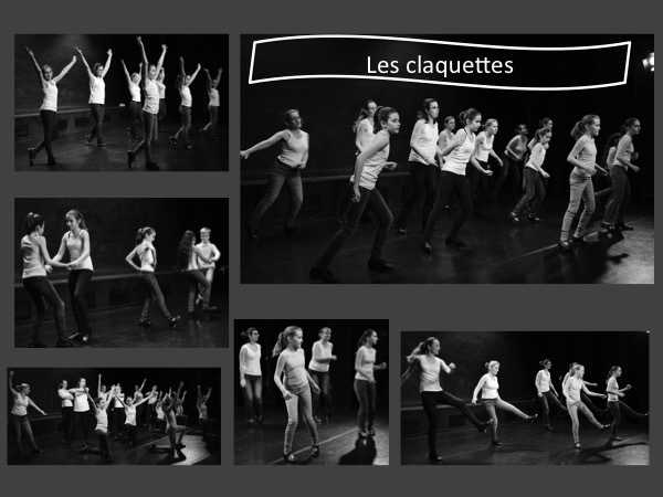 Photos d'enfants et adultes en spectacle