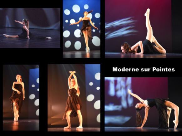 Photo danse moderne sur pointes