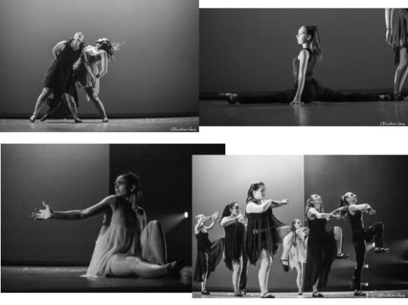 """Photos de la pièce chorégraphique """"Influences"""""""
