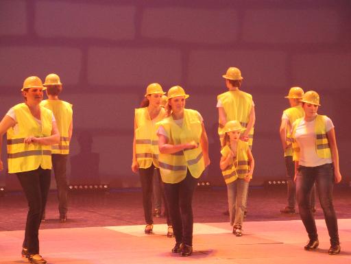 Claquettes au théâtre André Malraux