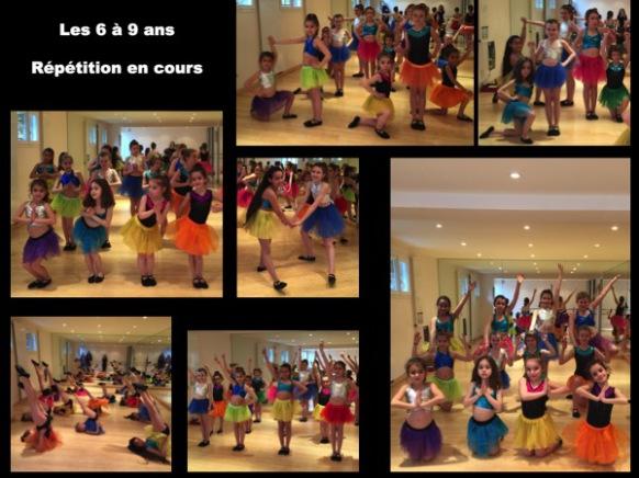 Photo en cours de danse moderne pour enfants - Niveau débutant