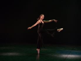 Danse moderne sur pointes